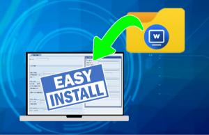 スクリーンウォーターマークは簡単インストール。PCにインストールするでけでウォーターマークが表示できます。