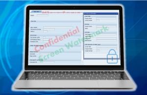 スクリーンウォーターマークは、自由にPC画面にウォーターマーク(透かし文字)を表示することが出来ます。