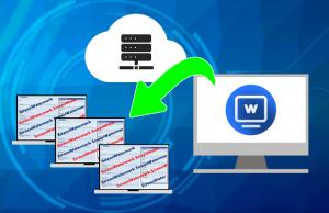 スクリーンウォーターマークは、ウォーターマークのポリシー、ログの管理が一括で出来ます。