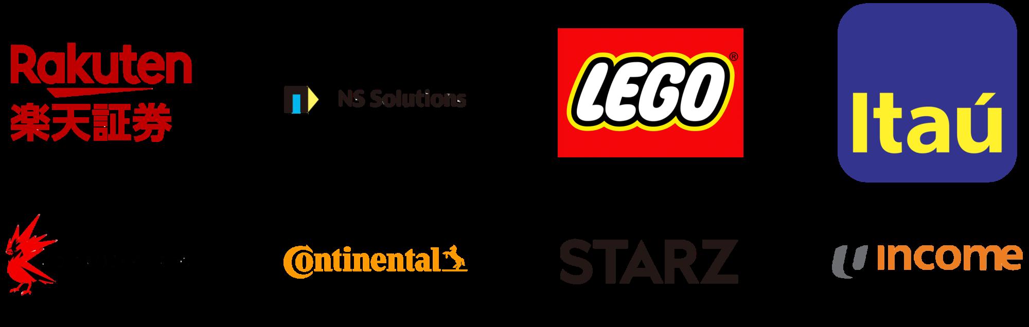 スクリーンウォーターマークは楽天証券、日鉄ソリューションズ、レゴなど金融・製造・ゲーム・デザインで世界20ヵ国以上の企業での導入実績があります