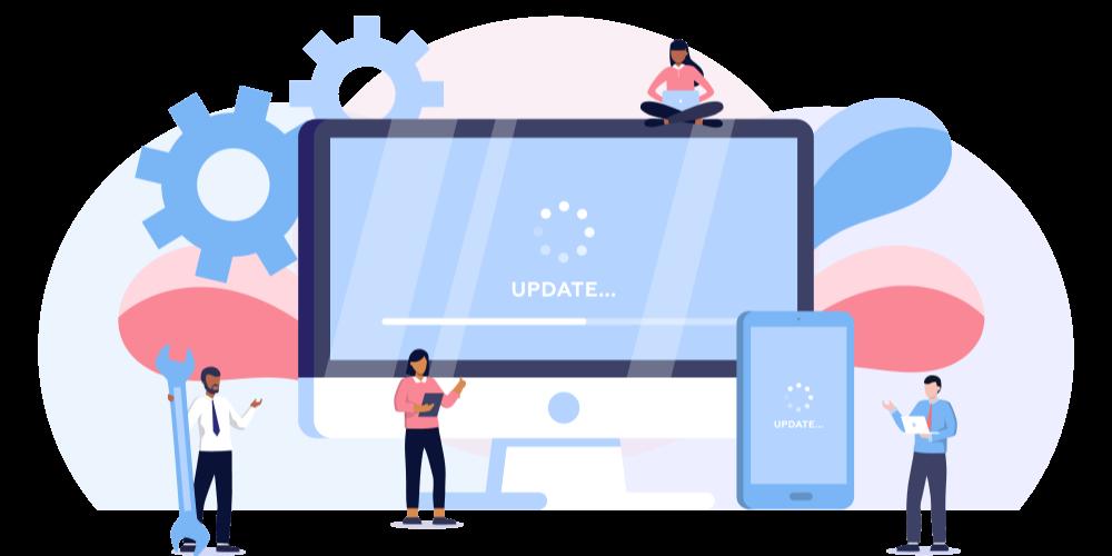 スクリーンウォーターマークの新機能追加や、既存機能の改善といった最新アップデート情報はScreenWatermarkの特設サイトで情報発信しています